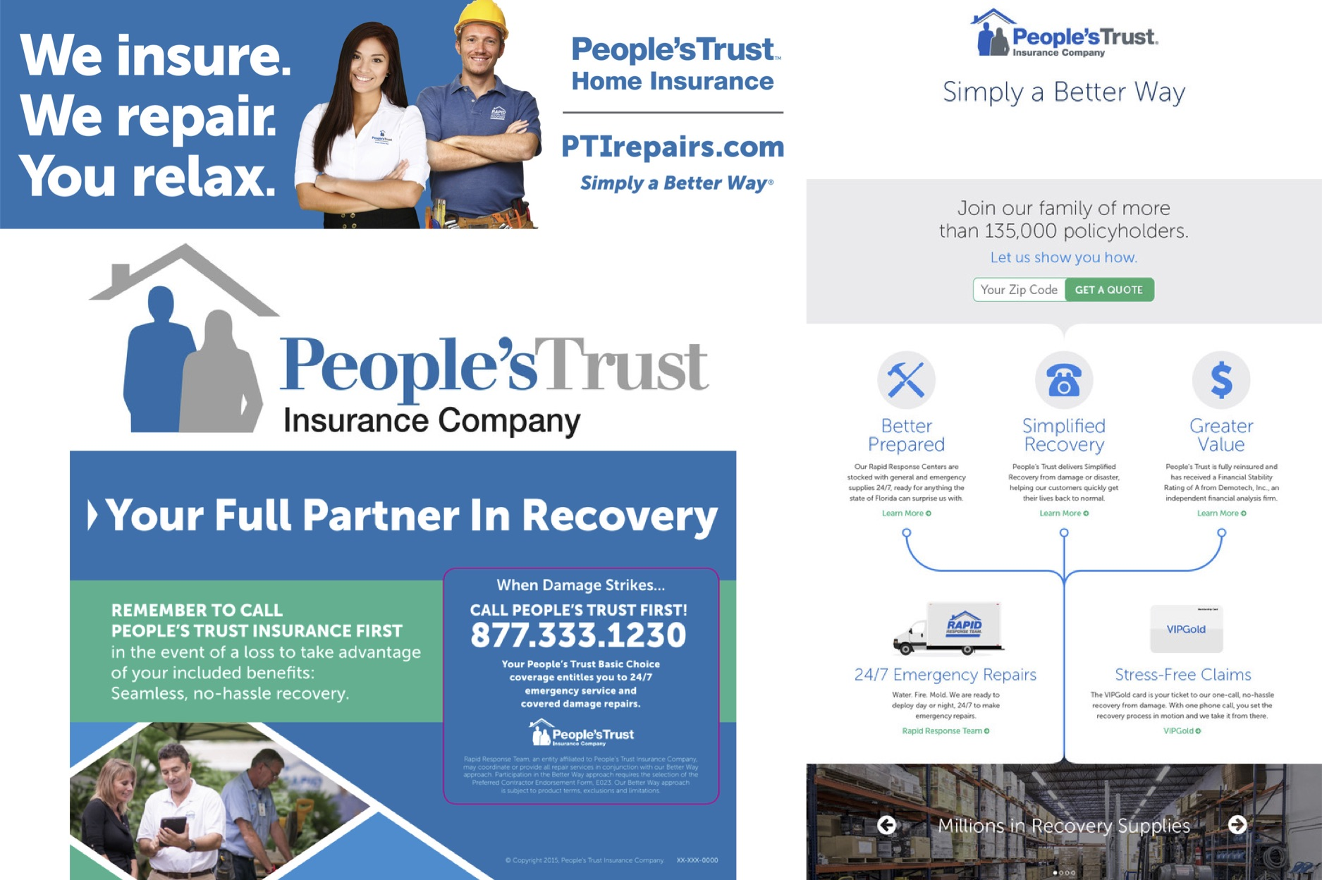 People's Trust Insurance - Case Study